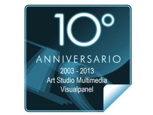 10 aniversario Art Studio Y Visualpanel