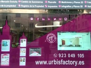 escaparate interactivo inmobiliaria urbis